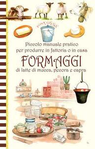 Piccolo manuale pratico formaggio - copertina