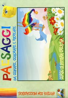 Winniearcher.com Paesaggi da copiare, colorare e ricreare. Corso di pittura creativa. Ediz. illustrata Image