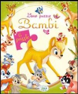 Bambi. Libro puzzle - copertina