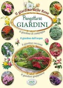 Progettare giardini delle rose - copertina