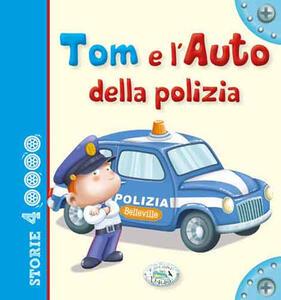 Tom e l'auto della polizia - copertina