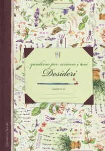 Quaderno per scrivere i tuoi desideri - copertina