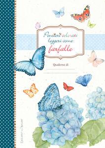 Pensieri colorati come farfalle - copertina