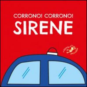 Corrono corrono! Sirene - copertina