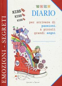 Diario per scrivere di passioni & piccoli grandi sogni - copertina