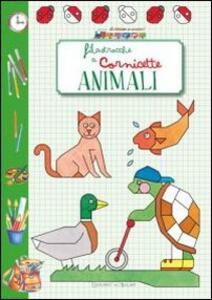 Animali. Filastrocche a cornicette - copertina