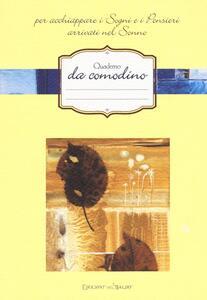 Quaderno da comodino per acchiappare i sogni e i pensieri arrivati nel sonno - copertina