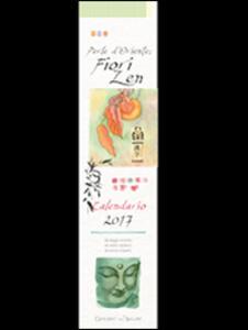Perle d'Oriente fiori zen. Calendario 2017 - copertina