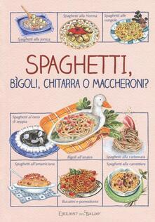 Milanospringparade.it Spaghetti, bìgoli, chitarra o maccheroni? Image