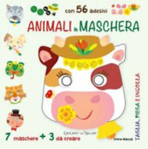 Animali in maschera - copertina