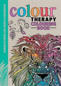 Art therapy. Colour therapy colouring book. Elimina lo stress con colori e scarabocchi - copertina