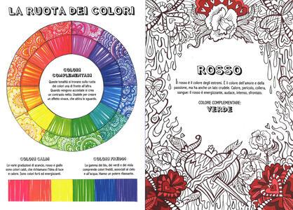 Art therapy. Colour therapy colouring book. Elimina lo stress con colori e scarabocchi - 2