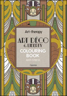 Promoartpalermo.it Art therapy. Art déco & liberty. Colouring book anti-stress Image