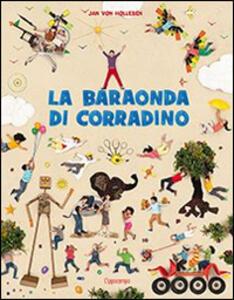 La baraonda di Corradino - Jan von Holleben - copertina