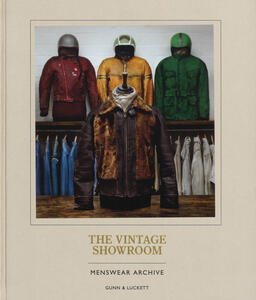 The vintage showroom. Menswear's archive. Ediz. italiana - Douglas Gunn,Roy Luckett - copertina