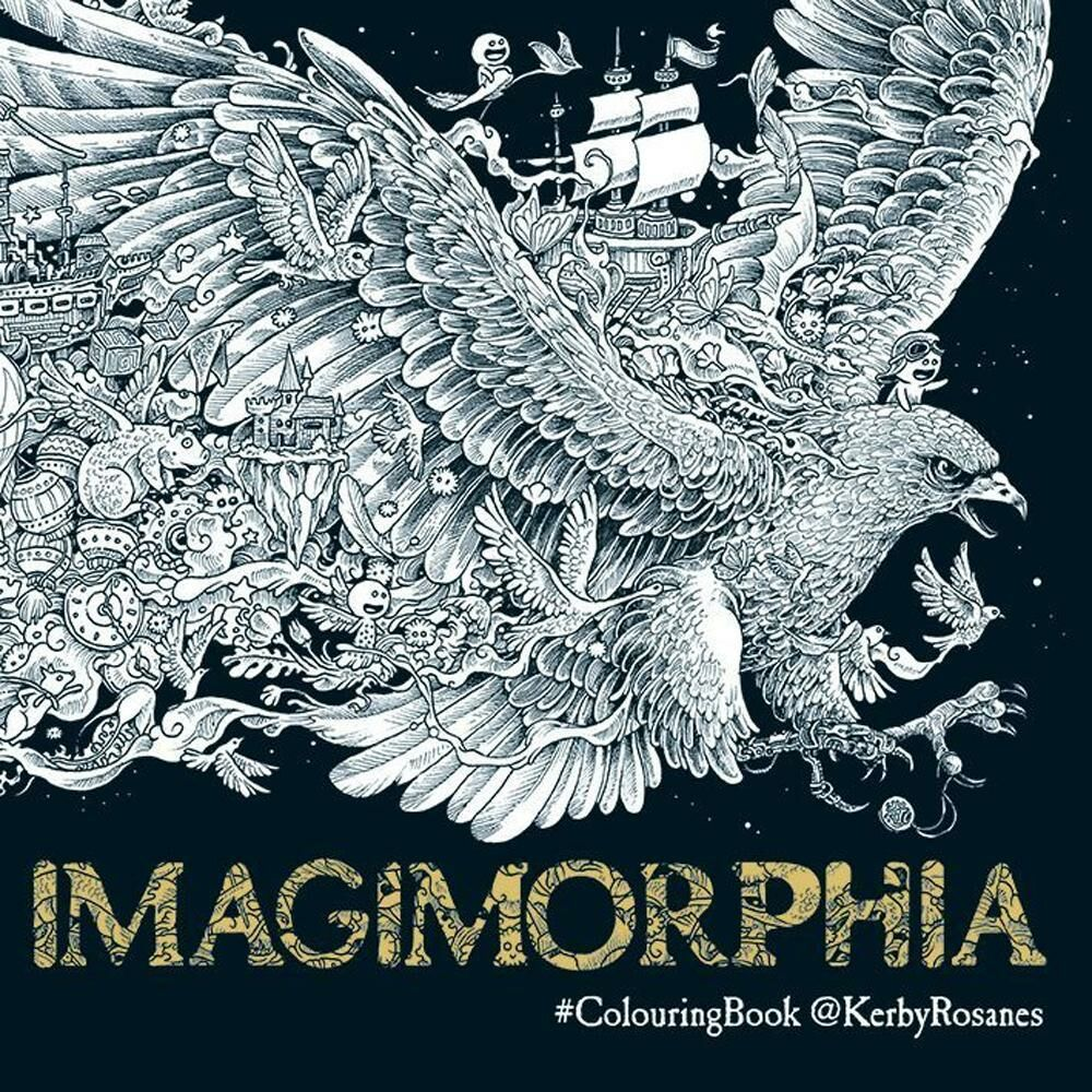 Imagimorphia. Colouring book