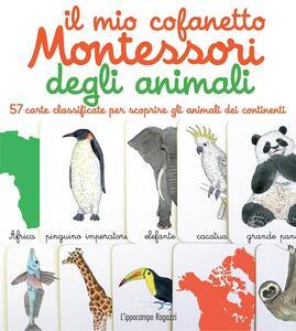 Il mio cofanetto Montessori degli animali - Ève Herrmann - copertina