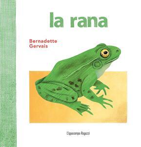 La rana - Bernadette Gervais - copertina