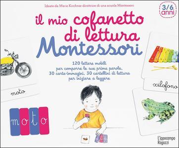 Il mio cofanetto di lettura Montessori - Marie Kirchner - copertina