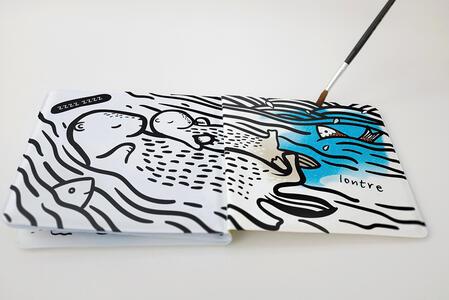 Colorami. Chi c'è sott'acqua? Libro bagno - Wee Gallery - 2