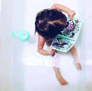 Colorami. Chi c'è sott'acqua? Libro bagno - Wee Gallery - 3