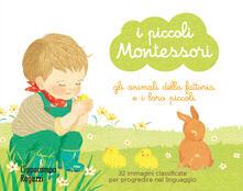 Voluntariadobaleares2014.es Gli animali della fattoria e i loro piccoli. I piccoli Montessori. Con 32 Carte Image