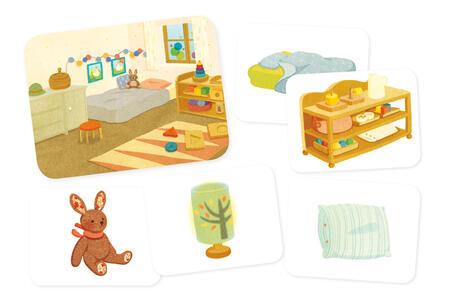 Gli oggetti della casa. I piccoli Montessori. Con 35 Carte - Adeline Charneau - 2