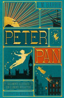 Peter Pan. Ediz. a colori - James Matthew Barrie - copertina