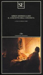 Il concetto dell'angoscia - Sören Kierkegaard - copertina