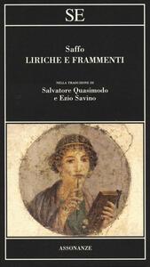 Liriche e frammenti. Testo greco a fronte - Saffo - copertina