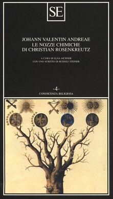 Le nozze chimiche di Christian Rosenkreutz - Johann V. Andreae - copertina