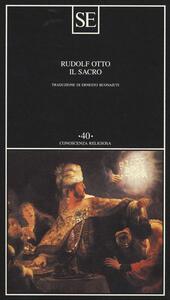 Il sacro - Rudolf Otto - copertina