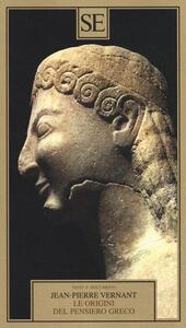 Le origini del pensiero greco - Jean-Pierre Vernant - copertina