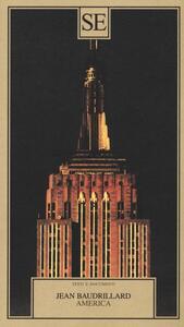 America - Jean Baudrillard - copertina