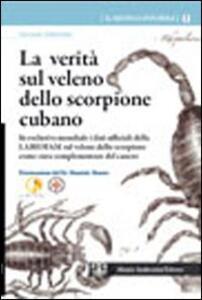 La verità sul veleno dello scorpione cubano