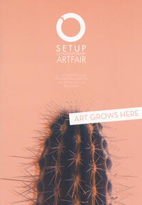 SetUp 2018. Contemporary art fair. Catalogo della mostra (Bologna, 1-4 febbraio 2018). Ediz. illustrata - copertina