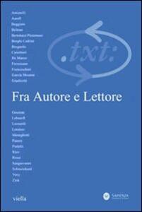 Critica del testo. Vol. 15\3: Fra autore e lettore. - copertina