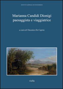 Marianna Candidi Dionigi paesaggista e viaggiatrice - copertina