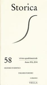 Storica (2014). Vol. 58 - copertina