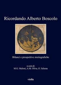 Ricordando Alberto Boscolo. Bilanci e prospettive storiografiche - copertina