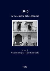 1945. La transizione del dopoguerra - copertina
