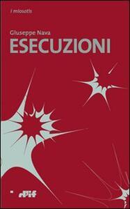 Esecuzioni - Giuseppe Nava - copertina