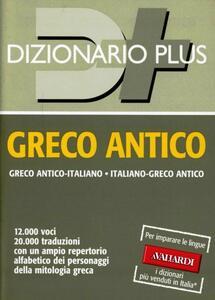 Dizionario greco antico plus - Nedda Sacerdoti - copertina