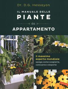 Il manuale delle piante da appartamento - David G. Hessayon - copertina