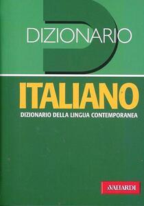Dizionario italiano. Dizionario della lingua contemporanea - copertina