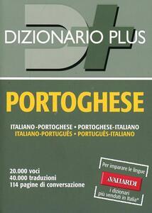 Dizionario portoghese. Italiano-portoghese, portoghese-italiano - copertina