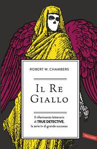 Il re giallo - Robert W. Chambers - copertina