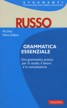 Daddyswing.es Russo. Grammatica essenziale Image