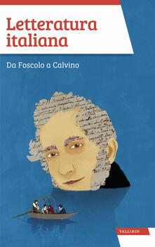 Daddyswing.es Letteratura italiana. Da Foscolo a Calvino Image
