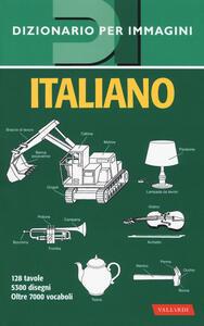 Italiano. Dizionario per immagini - copertina